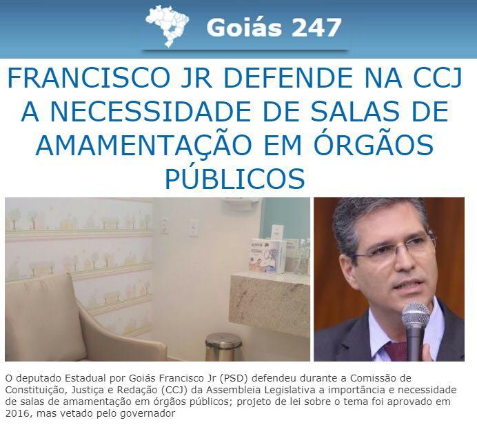 Goiás 247 - Amamentação