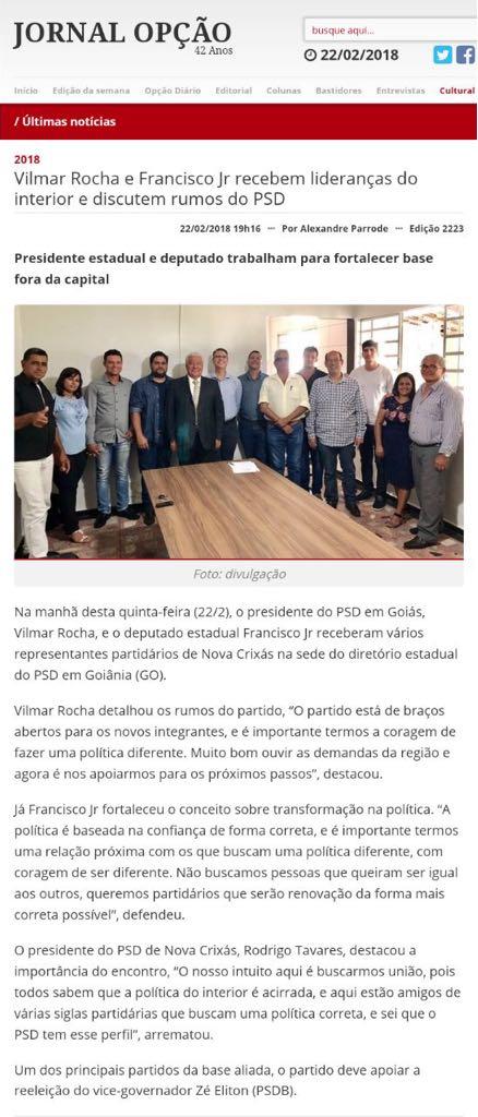 Jornal Opção - PSD